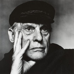 Photo by Irving Penn / Willem de Kooning, Long Island, New York, September 26, 1983, printed 1984