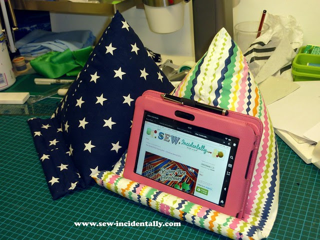 Tablet Pillow - Christmas 2013