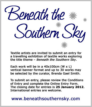 Beneath the Southern Sky Call for Entries
