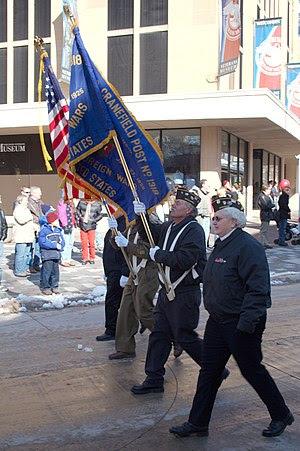 Taken in Madison, Wisconsin during Veteran's D...