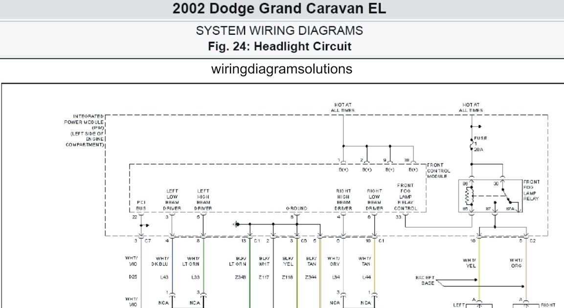2005 Dodge Durango Radio Wiring Diagram