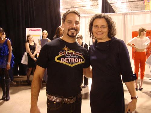 with Joe Faris from Project Runway season 5