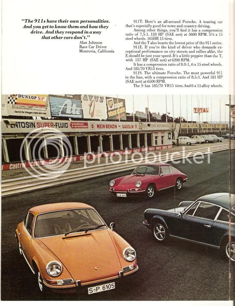 Blog Art And Car 1972 Porsche 911 Brochure Bmw M3 Forum Com E30