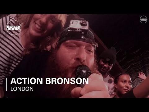 Концерт Action Bronson живьем на Boiler Room