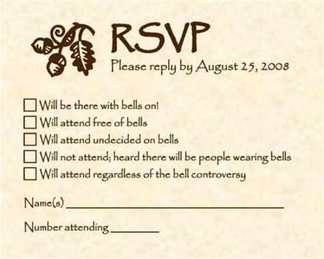 To do: Throw party for sole purpose of using these RSVP