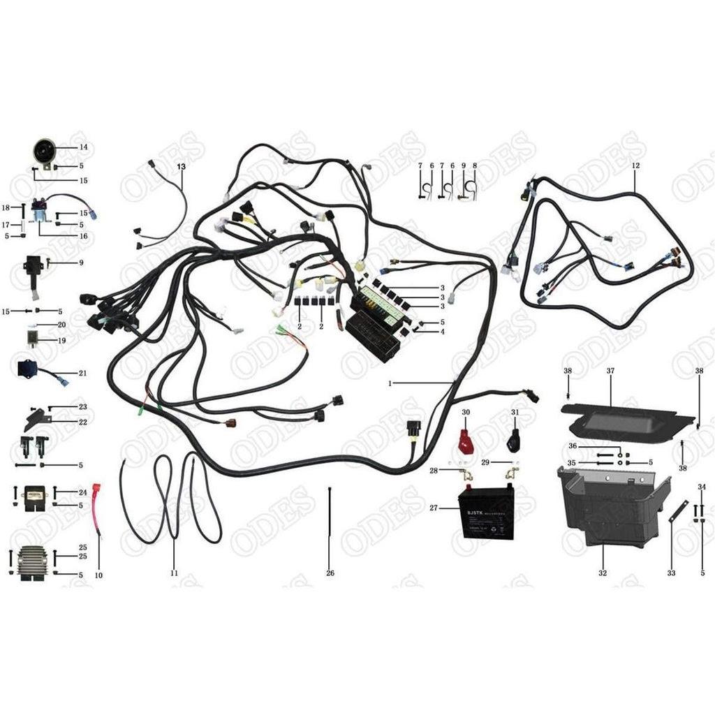 Ode 800 Utv Wiring Diagram