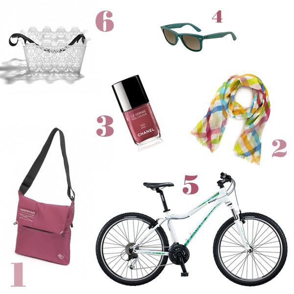 Simply girly: ma dove vai bellezza in bicicletta...