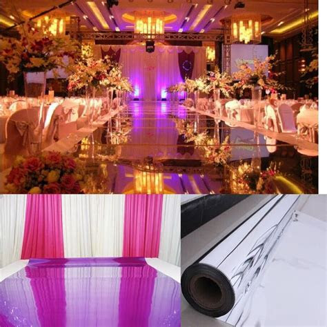 Wedding Mirror Carpet perfect for aisle runner alternative