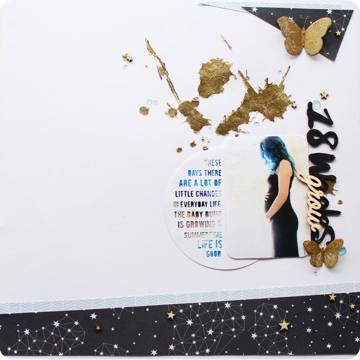 #scrapbooking #layout