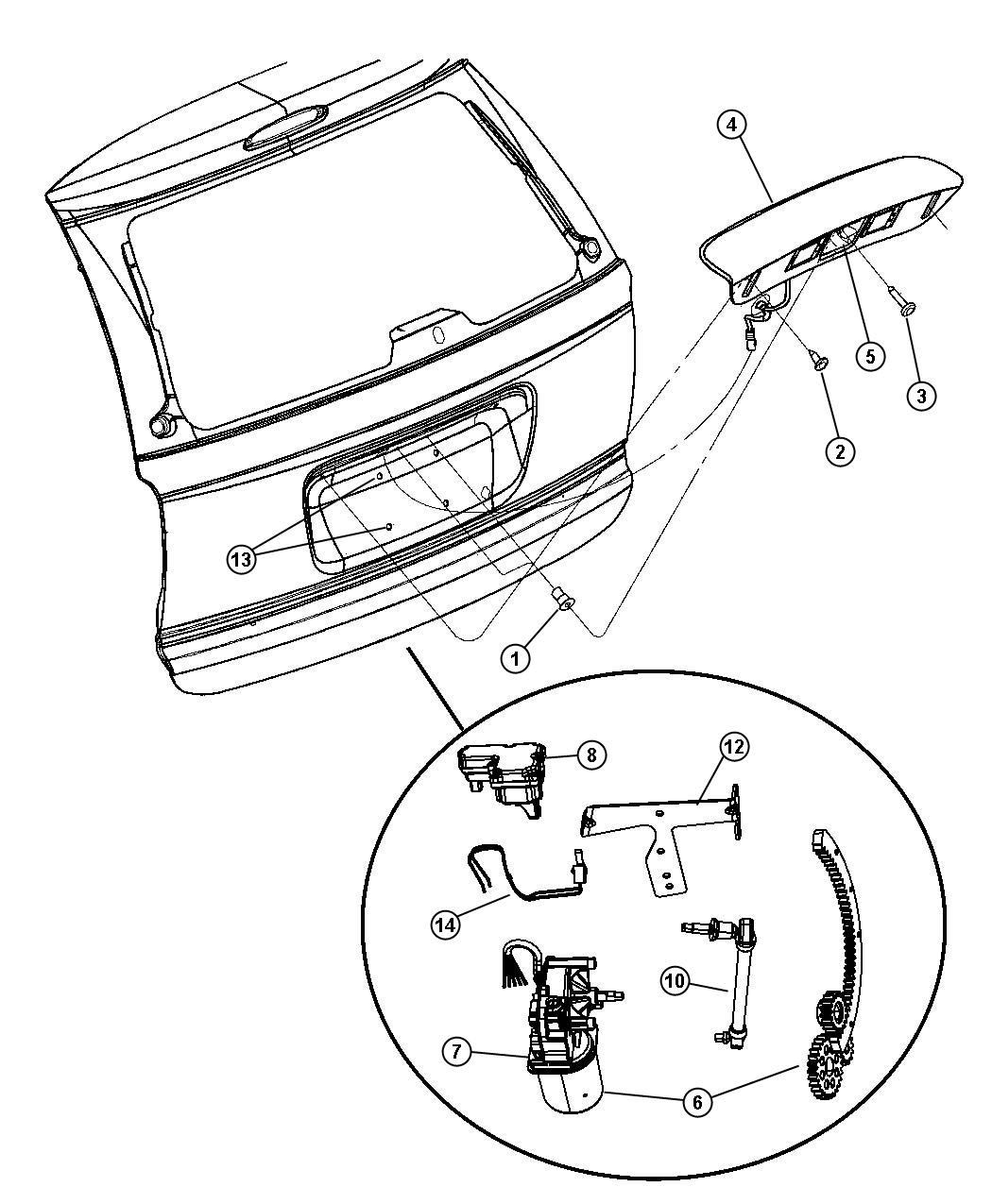 35 2000 Chrysler Town And Country Parts Diagram