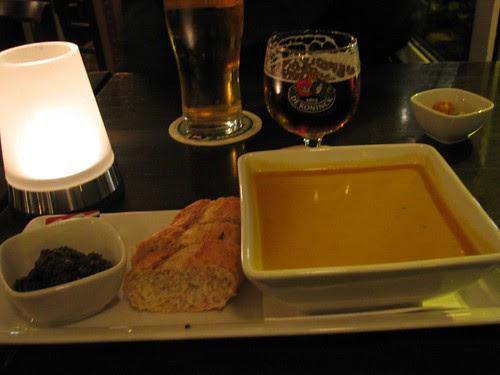 Paprika Soup at Koepel Cafe