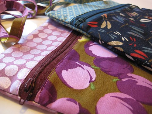 Runaround Bags front detail by Poppyprint