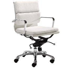 Milan Office Chair - White : Target