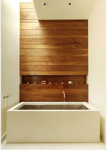 Architectural Details: 10 Skylights in the Bath : Remodelista Above: A skylight above the soffit washes natural light across the wood wall in this bathroom by San Francisco based Adlin Darling Design.