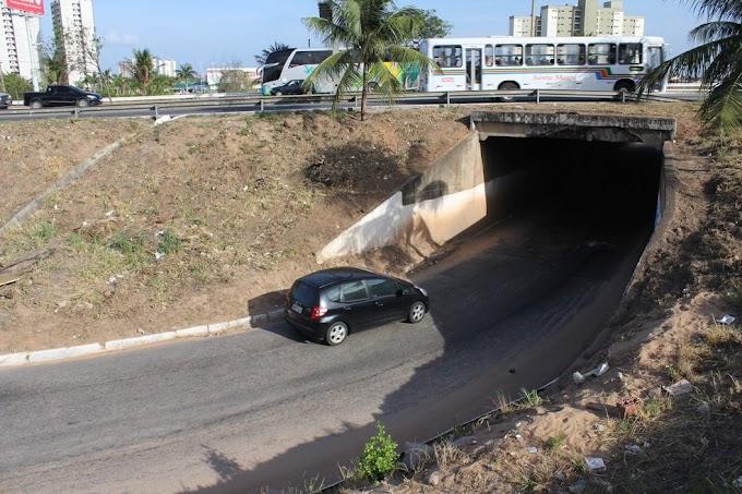 DNIT interdita neste sábado Túnel de Neópolis por 4 meses
