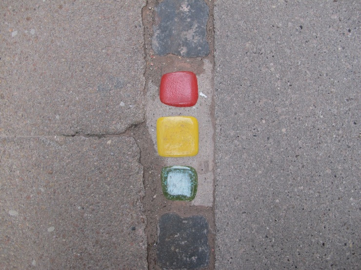 Ceramic street art