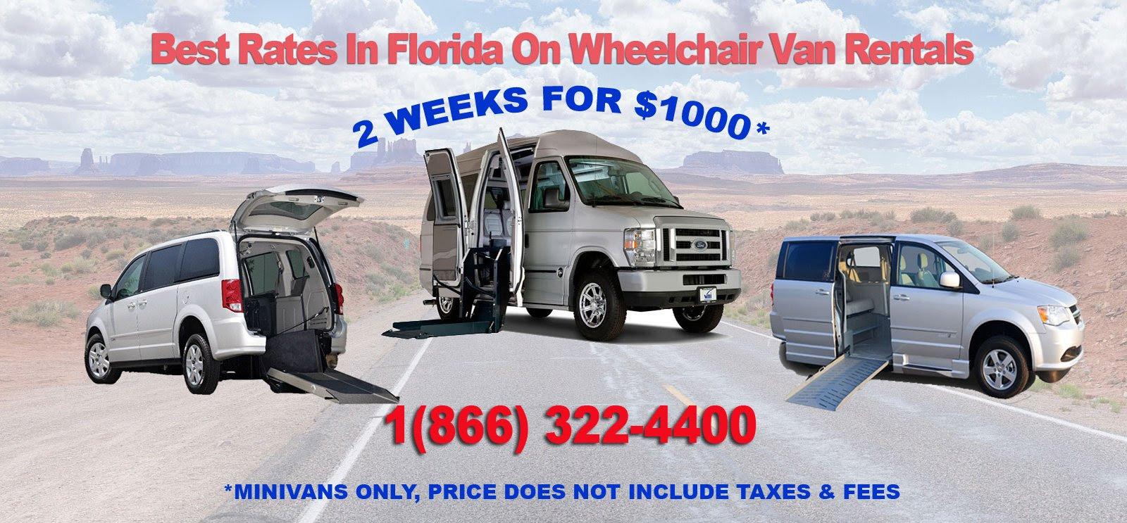 Medical Equipment Wheelchair Van Rentals  4400