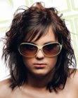 rock star hairdo