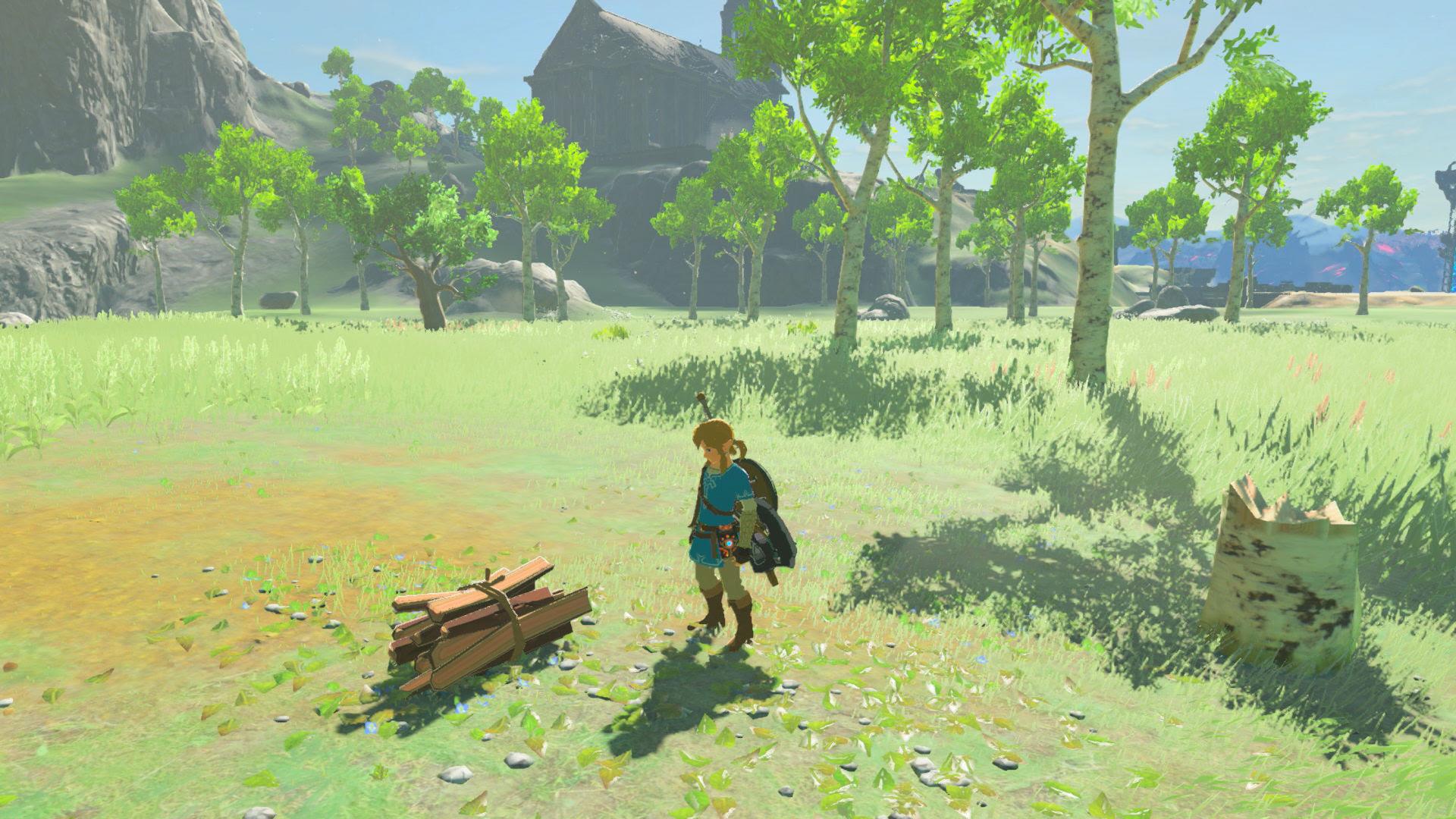 Tree jumping in Zelda: Breath of the Wild is my new jam screenshot