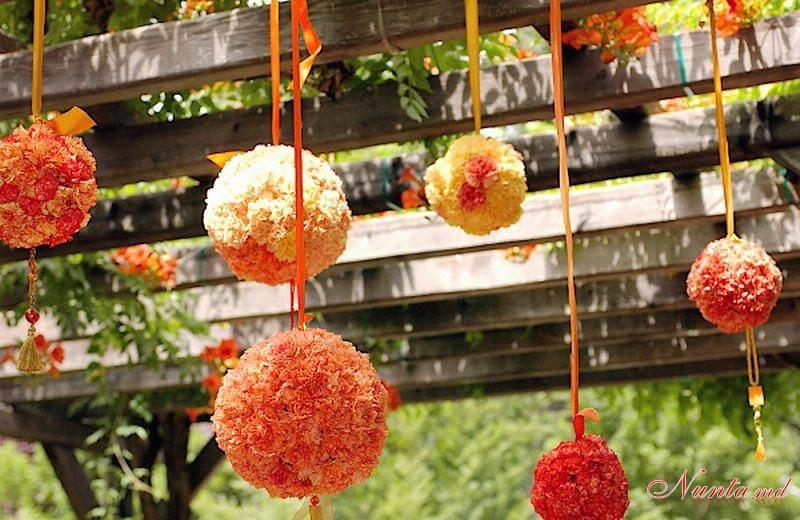 Esferas De Flores Naturales Tutorial Ideas Y Material