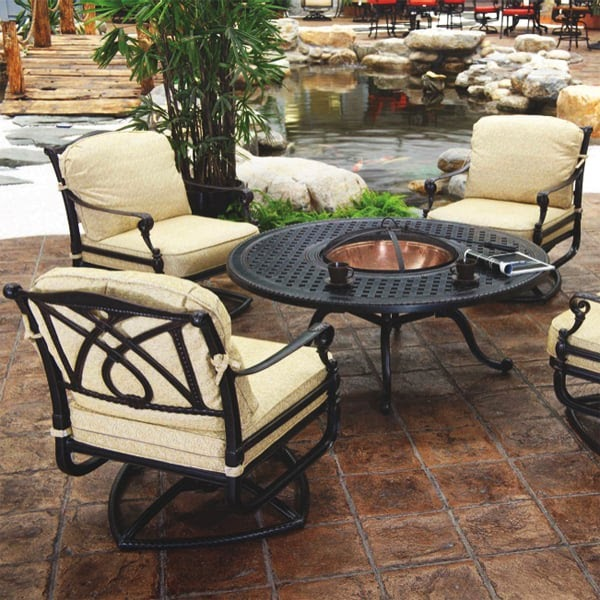 30 Patio Furniture Sets With Fire Pit New York