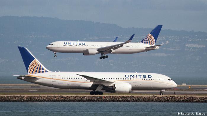 United Airlines 787 und United Airlines 767 Passagierflugzeug (Reuters/L. Nastro)