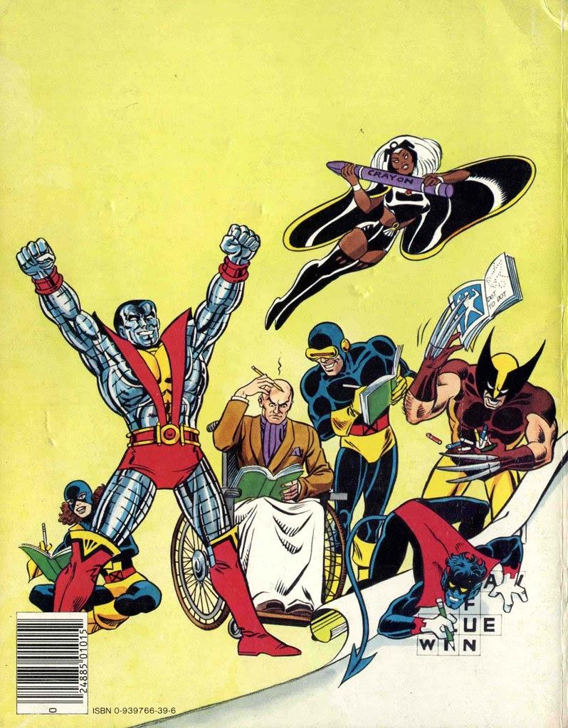 X-Men Super Activity Book00050