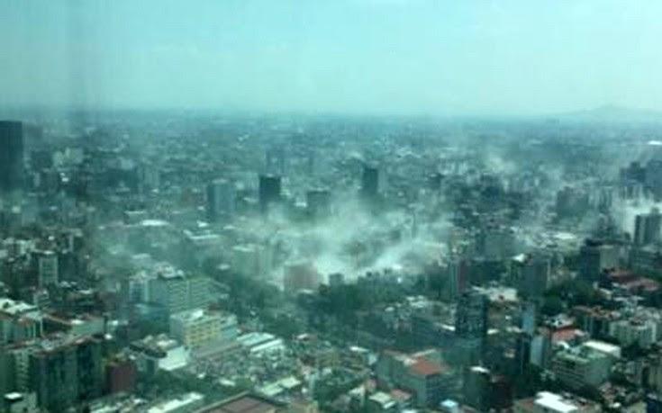 Ισχυρός σεισμός 7,4 Ρίχτερ ταρακούνησε το Μεξικό