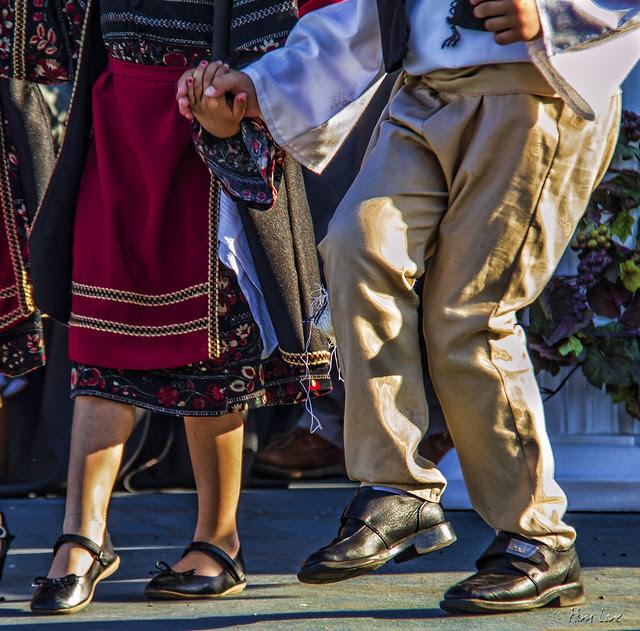 Dancing at the Greek Food Festival 2