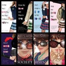 Image result for ally carter books