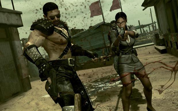 """Roupas eram um dos principais """"presentes"""" em Resident Evil (Foto: Reprodução)"""