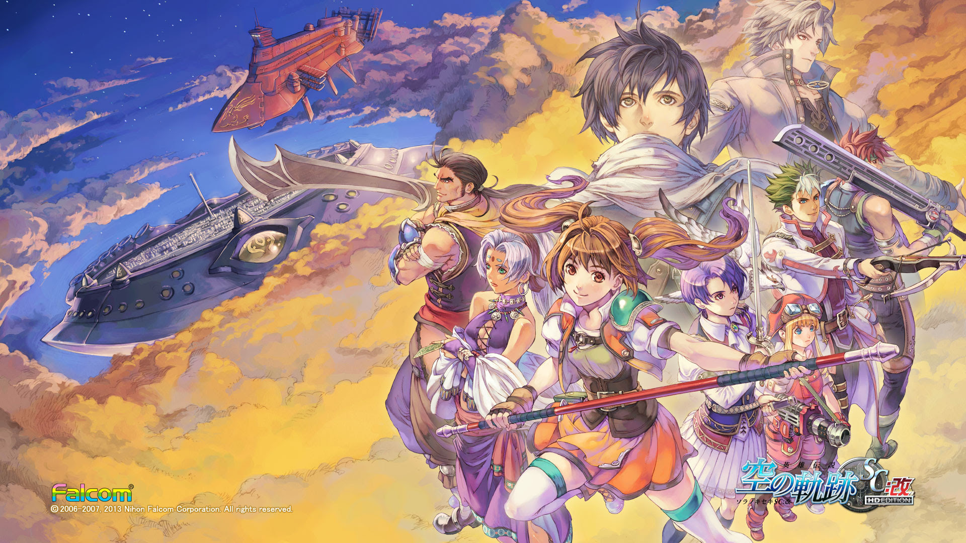 Trails In The Sky Wallpaper Collection 120 Wallpapers Falcom