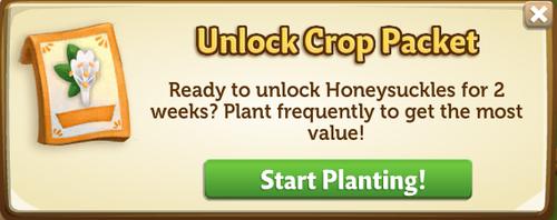 Unlock Crop Packet