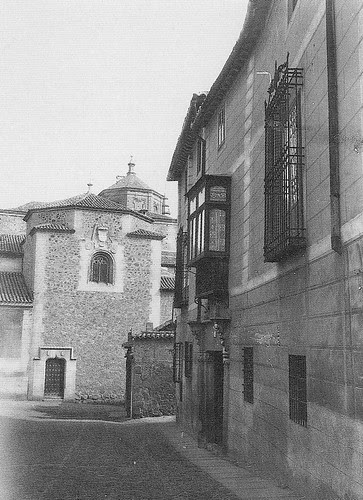 Iglesia de El Salvador (Capilla de Santa Catalina) a principios del siglo XX. Archivo Rodríguez