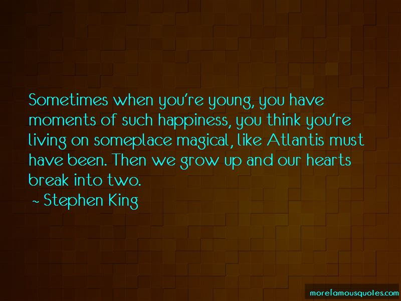 Hearts In Atlantis Quotes Top 1 Quotes About Hearts In Atlantis