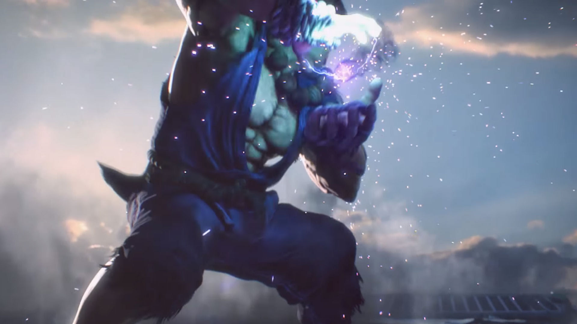 Check out Tekken 7's opening movie screenshot