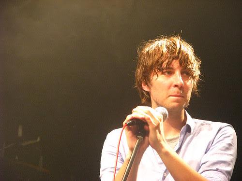 Phoenix frontman Thomas Mars @ Phoenix: photo by Michael Ligon