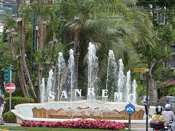 fontaine san remo
