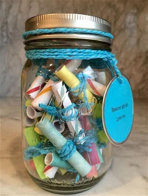 Message Filled Mason Jar   Mason jar gifts, Love notes and