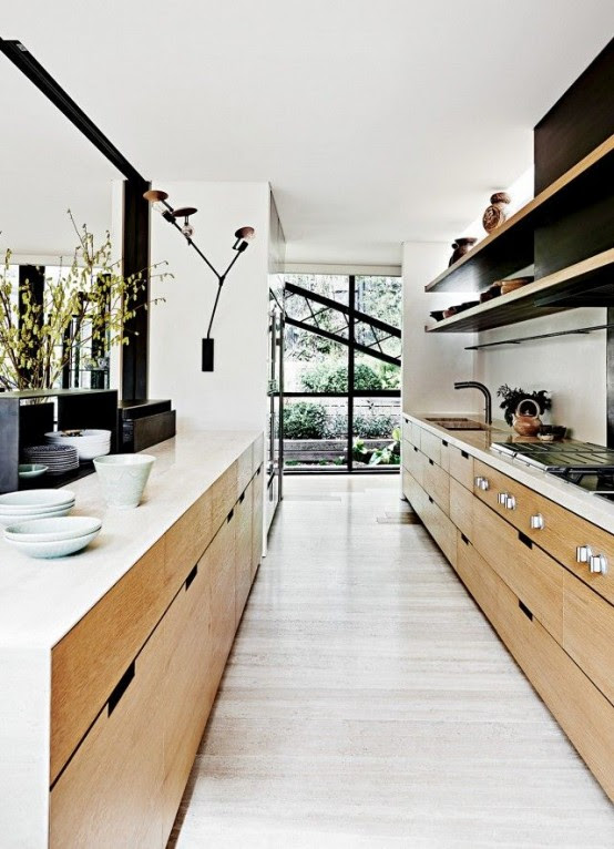 22 STYLISH LONG NARROW KITCHEN IDEAS..... - Godfather Style
