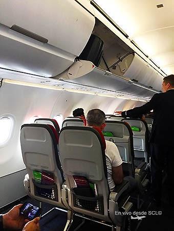 Desde scl latam estrena los nuevos compartimientos de - Vueling medidas maleta cabina ...