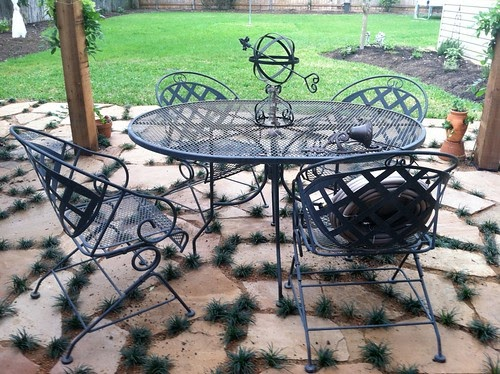 BeachBrights Painting Metal Patio Furniture