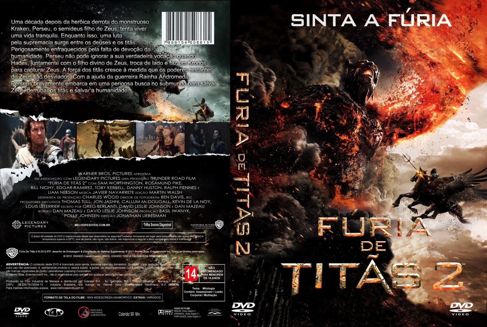 Fúria de Titãs 2 3D Torrent - BluRay 1080p 3D Legendado (2013)
