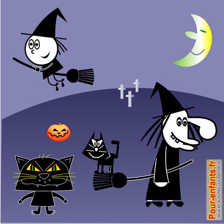 Dessins De Chats Imprimer Dessin Coloriage De Chat Noir Halloween