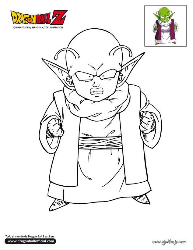 Dibujos Para Colorear Goku Combativo Es Hellokids Com