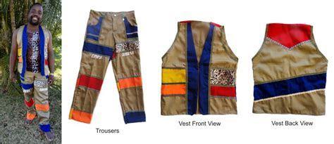 umBlaselo   Zulu Mens Trouser and Waistcoat set