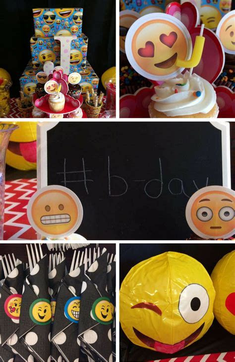 Emoji Party Inspirations   Birthday Party Ideas & Themes