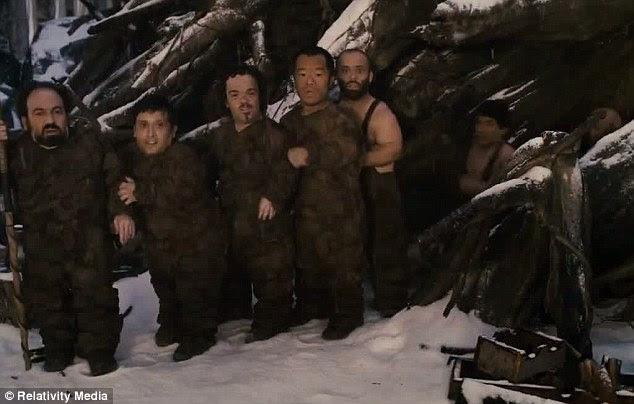 Rebeldes engenhoso: Os sete anões de Branca de Neve ajudar a reconquistar seu direito de primogenitura na comédia de aventura