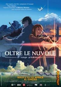 Oltre le Nuvole di Makoto Shinkai a Cartoons on the Bay e poi al Cinema!