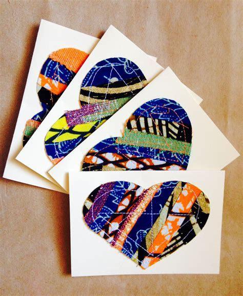 Beautiful African wax print (Ankara) notecards. African